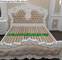 11 Bộ giường tủ màu trắng cổ điển cực đẳng cấp đặt đóng tại xưởng