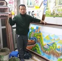 9 Thanh lý toàn bộ tranh sơn dầu vẽ tay vì sắp chuyển xưởng - giá chỉ còn 50