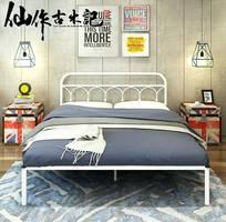 5 Giường sắt cho Homestay, giường sắt cho nhà nghỉ, giường sắt cho khách sạn