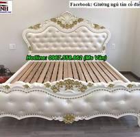 5 Những mẫu bộ giường ngủ tân cổ điển đẹp gỗ tự nhiên cao cấp