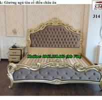 15 Những mẫu bộ giường ngủ tân cổ điển đẹp gỗ tự nhiên cao cấp