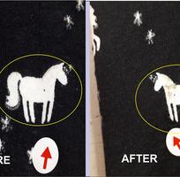 2 Quét màu vải sửa chữa lỗi vải Ngân Hà Hải Dương