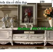 7 Top 20 mẫu kệ tivi kiểu cổ điển trang trí phòng khách đẹp