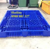 Pallet nhựa mới 100 sản xuất bằng nhựa HDPE