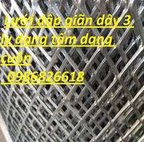5 Lưới dập giãn, lưới hình thoi, lưới quả trám dây 1 ly, 2 ly, 3 ly dạng cuộn dạng tấm
