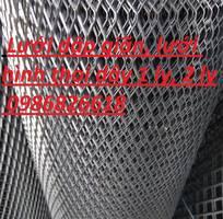 12 Lưới dập giãn, lưới hình thoi, lưới quả trám dây 1 ly, 2 ly, 3 ly dạng cuộn dạng tấm
