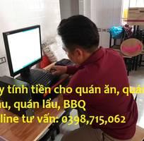 Trọn bộ máy tính tiền dell cho quán ăn - quán nhậu - quán lẩu tại quận 8