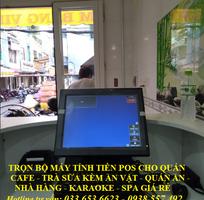 1 Bán trọn bộ máy tính tiền pos cho quán cafe, quán ăn tại Đồng Nai