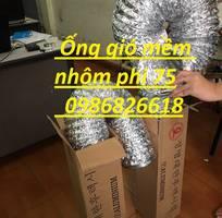 Báo giá ống gió mềm nhôm d100, ống gió nhôm, ống gió Hàn Quốc