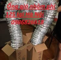 2 Báo giá ống gió mềm nhôm d100, ống gió nhôm, ống gió Hàn Quốc