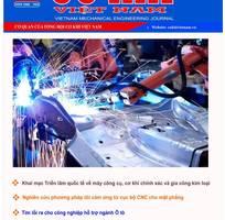 Đăng bài trên tạp chí cơ khí Việt Nam