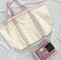 Túi xách Victoria Secret hồng