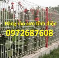 4 Lưới thép hàng rào uốn sóng, lưới thép hàng rào mạ kẽm, sơn tĩnh điện
