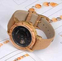 6 Đồng hồ cơ đeo tay cao cấp, Đồng hồ cơ nam bạc sc001 không gỉ cao cấp