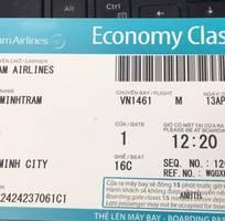 1 Bán cuống vé máy bay,boarding pass các hãng hàng không trong và ngoài nước
