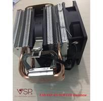 2 Fan CPU VSP 4U-9cm LED chính hãng dùng cho tất cả Socket