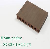 1 Sàn gỗ ngoài trời hai lớp Hi - Class Nhựa Việt Pháp