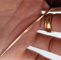 12 Kính Amor chuôi chuông Gold Filled - Made in France. Size:  140