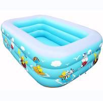 Bể phao bơi chữ nhật cho trẻ em