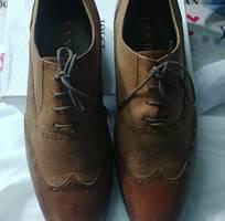 Bán đôi giày nam  Tandy Hàn qúôc. màu nâu  size 43.