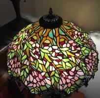 2 Đèn Tiffany Hoa Mận Châu Âu