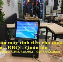 Máy tính tiền cảm ứng cho quán ăn - quán nhậu tại Quận 7