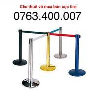 6 Cho thuê Trụ Inox - Cọc line sân bay - Barrier