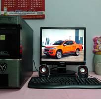 Máy vi tinh Gigabyte 2CPUx2.8 LCD17 Bộ Loa, gia re 1tr400