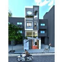 4 Thiết kế kiến trúc và thi công xây dựng nhà phố chuyên nghiệp