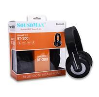 1 Headphone không dây bluetooth Soundmax BT200 chính hãng