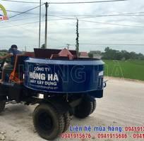 4 Khách hàng tại Thanh Hóa nhận bàn giao máy trộn bê tông tự hành Hồng Hà