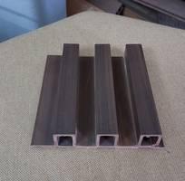 1 Tấm ốp tường trần gỗ nhựa mã QBO-37B hệ ốp vật liệu sinh thái