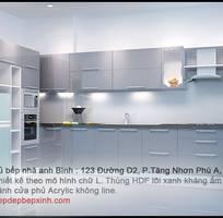 3 Tủ bếp siêu đẹp, siêu rẻ, siêu chất lượng tại Tp. hcm