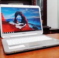 1 Laptop Sony VAIO 2CPU Ram3G Hdd250G LCD15  Pin 1h30, Xài Tốt, Giá rẻ 1tr650