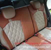 1 Bọc ghế da phù hợp misubishi pajerosport 2016   Kiểu ghế quả trám