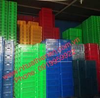 1 Thùng nhựa đặc-Sóng nhựa hở-Khay nhựa-Nhựa Thiên Ân