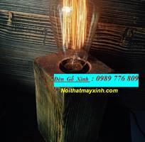 19 Đèn thả trần bằng gỗ, đèn gỗ Nhật giá rẻ