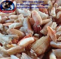 18 Chuyên Sĩ Lẻ các loại Thịt Cua Ghẹ, Càng Cúm, Đùi Ghẹ, Gạch Cua các loại nguyên liệu nấu.