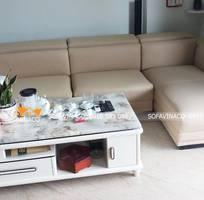 Bọc lại sofa với chất liệu da Microfiber