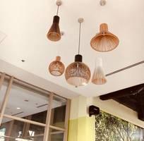 Xưởng đèn gỗ giá rẻ, đèn gỗ treo trần