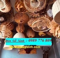 3 Xưởng đèn gỗ giá rẻ, đèn gỗ treo trần