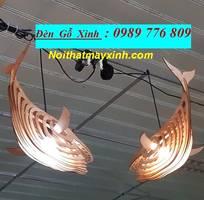 5 Xưởng đèn gỗ giá rẻ, đèn gỗ treo trần