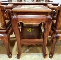 1 Bộ bàn ghế móc đá 8 món gỗ cao cấp