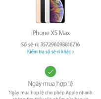 1 Apple IP Xsmax Gold 64Gb Fpt VN/A Full box Bh 5/2020
