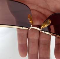 7 Kính Optura   Made in  Germany dáng đòn gánh bọc vàng.