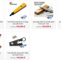 10 Chuyên cung cấp cáp mạng, phụ kiện cat5,cat6 Amp/ Commscope, Hạt mạng RJ45, Nhân Mạng ModulRack, Kim
