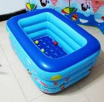 2 Bể phao bơi chữ nhật cho trẻ em