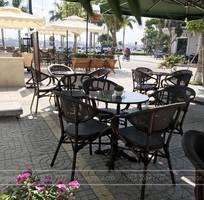 6 Bộ bàn ghế cafe ngoài trời Starbuck BTL-GC01N