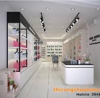Thiết kế cửa hàng mỹ phẩm xách tay cho người mở cửa hàng