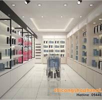 1 Thiết kế cửa hàng mỹ phẩm xách tay cho người mở cửa hàng